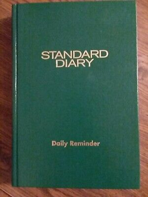 At A Glance Standard Diary Sdu389 Green Cover