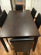 Dining table with 6 chairs Springvale Greater Dandenong Preview