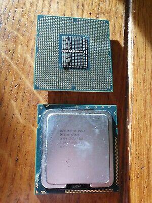 LOT 2 X Intel Xeon SLBF4 x5560 2,80 Ghz 8 M 6.40 Quad Core Processeur