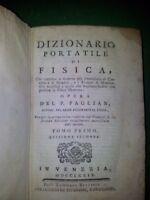 Dizionario Portatile Di Fisica - 1779 -  - ebay.it
