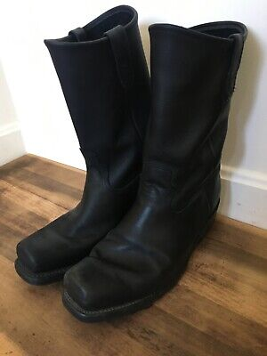 Men's DOUBLE H 4008 HARNESS BOOTS 10.5 3E No Harness Sierra Soles