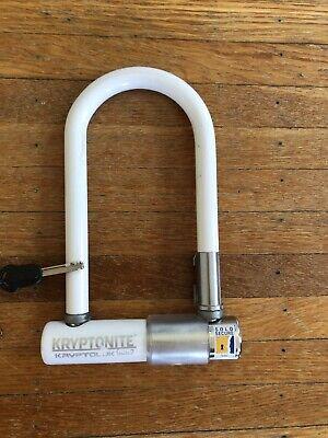 Kryptonite Kryptolok Series 2 Mini 7in Bike Bicycle Frame U-Lock