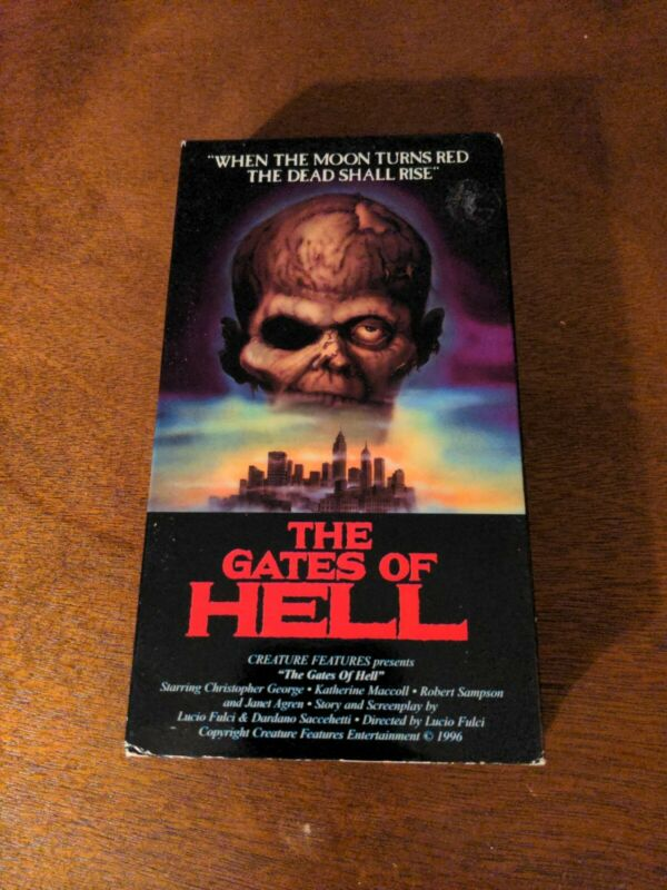 The Gates of Hell VHS horror Creature Feature Lucio Fulci zombies cult