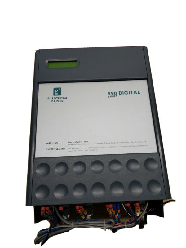 Eurotherm 590 Digital Series 60 hp drive ☆ CLEAN TAKEOUT FREE SHIPPING☆