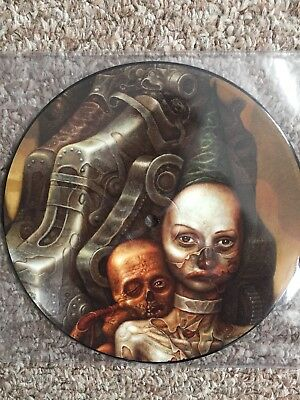 "Melvins vinyl. 7"" split with Hammerhead. Amphetamine Reptile records. Pic Disc"