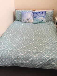 Double bed & mattress (IKEA)