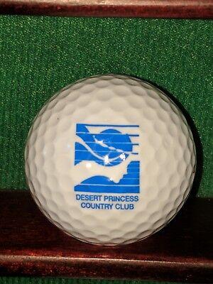 Desert Princess Country Club Palm Springs California Logo Golf -