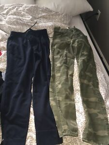 abercrombie & fitch gym sweats & hollister pants