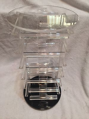 Rotating Earring Display- 4 Sides - Brand New In Box 13 12 Tall