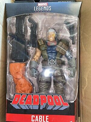 Marvel Legends Cable Sasquatch Wave Hasbro  New Sealed Figure X-Men Deadpool