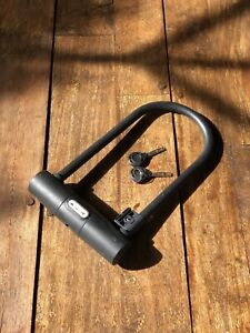 Maxx Pro heavy duty U bike lock with keys