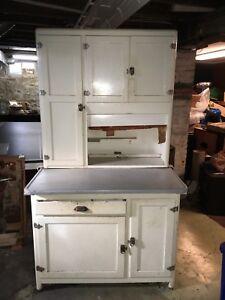 Antique HOOSIER Style Kitchen Cabinet