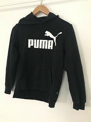 Puma hoodie navy fits 11-12 year old