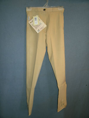 Ladies New Size 24-L Tan Tough 1 Comfort Riders Euro Style Riding Breeches