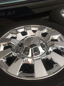 2017 Gmc Denali 20 inch wheels/tires