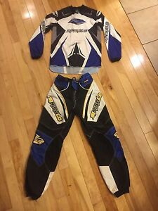 Motocross / atv - padded riding pants/top