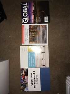 Niagara College Business Admin textbooks