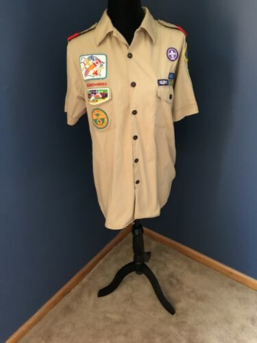 Boy Scout Shirt with Badges Southern New Jersey Council