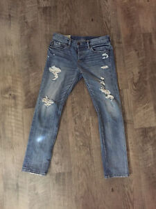 Abercombie and fitch mens jeans (31x30)