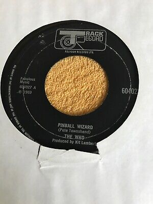 The Who : Pinball wizard   45rpm  1969 rock
