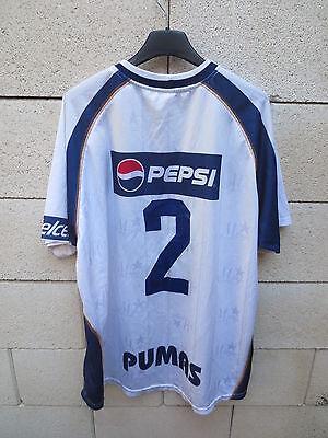 VINTAGE Maillot PUMAS MORELOS n°2 jersey camiseta Banamex trkot football shirt image