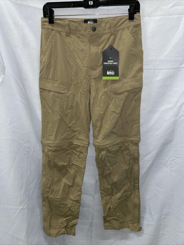 REI Sahara Convertible Pants - Burlap - Boys Large (14-16)