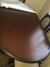Dining Table + 6 chairs...moving house 30 November Belmore Canterbury Area Preview