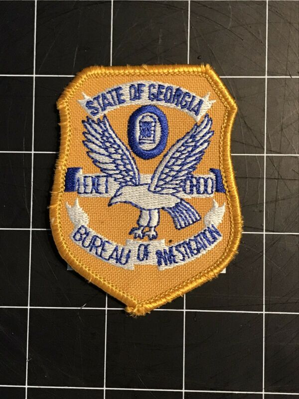 GBI Historic Patch, New Old Stock, Georgia