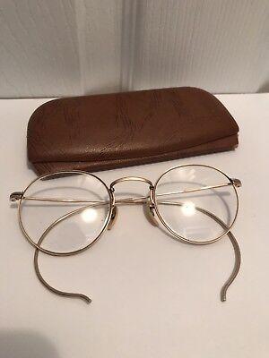 Vintage BSO Bay State Optical 12K Gold Filled Men's Eyeglasses Glasses Frames