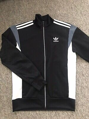 Adidas Mens Retro Vintage Style Zip Up Jacket Size S
