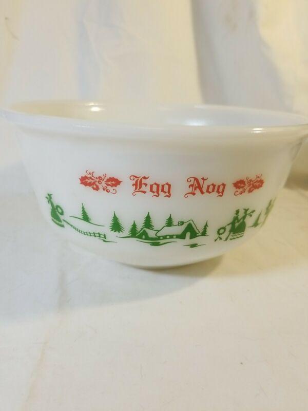 Hazel Altas Egg Nog Bowl (Bowl Only)