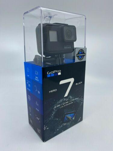 New & Sealed GoPro HERO7 Black 12 MP Waterproof 4K Camera Touch Screen CHDHX-701