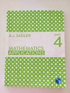 Mathematics Applications Unit 4 - First Edition Bateman Melville Area Preview