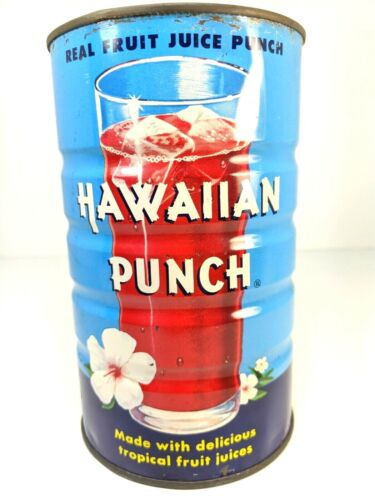 Vintage Hawaiian Punch Can 1955 Fullerton CA McGrath Company Baltimore MD