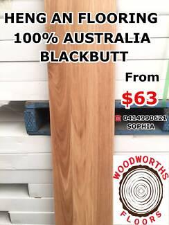 DIRECT IMPORTER AUSTRALIAN BLACKBUTT SOLID TIMBER FLOORING $63