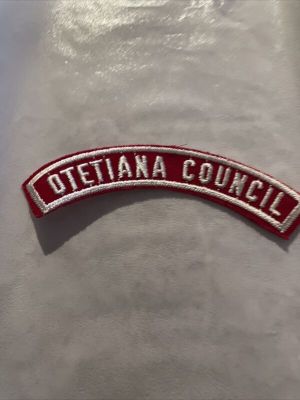 Otetiana Council 1/2 RWS - New York CSP Vintage BSA
