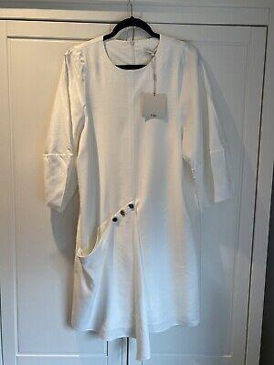 Tibi White Dress Size 8 New