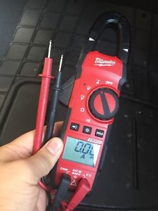 Milwaukee digital clamp meter TRMS