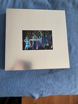 Abba The Vinyl Collection New Never Played 9 albums (8 studio, 1 bonus) + 1 book
