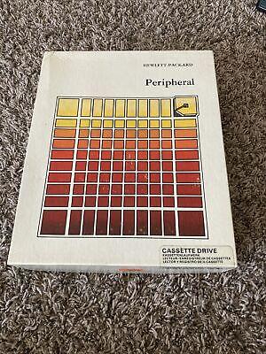 HP-IL Cassette Drive for HP 41C/CV/CX 71B Calculators Vintage