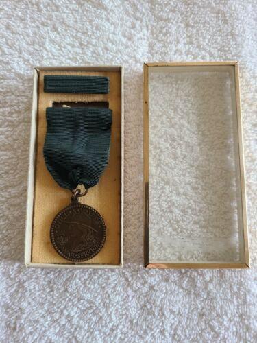 Vintage Girl Scout World War I 1918 Liberty Loan Campaign Service Medal / Award