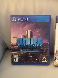 Skylines for PlayStation 4-Mint Copy!!!