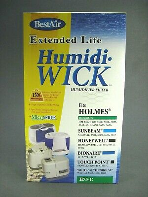Best Air Humidifier Filter H75-C  Extended Life Humidi-Wick (Best Air Humidi Wick)