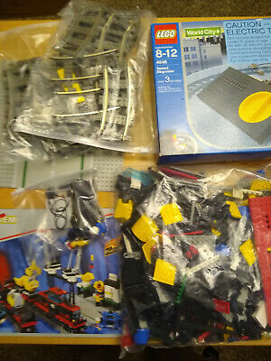 Lego 4565 Freight and Crane Railway and Lego 4548 Transformer w/ Instructions
