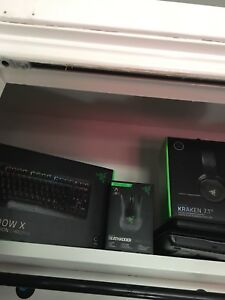 Razer gear in mint condition