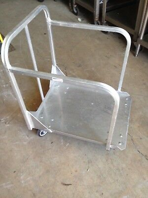 Aluminum Rolling Food Full Size Sheet Pan Transport Bakery Baking Rack Cart