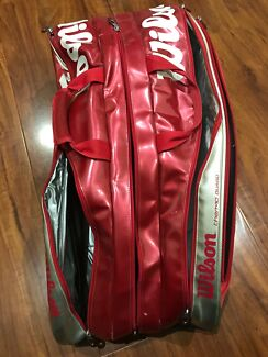 Wilson tennis bag (9 racket bag)