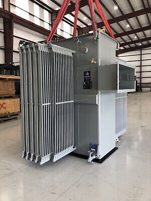 Abb 3750 Kva Substation Transformer 13800 Delta - 480y277 Ready To Ship