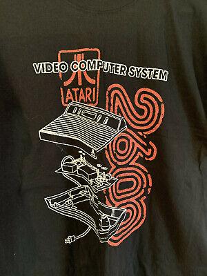 NWT Atari 2600 short sleeve black T-Shirt, Size XL
