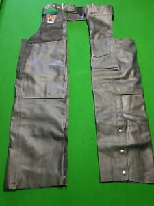 Leather chaps,new, never worn.
